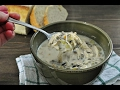 Crockpot Creamy Chicken & Wild Rice Soup