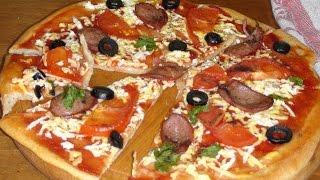 Пицца из того что есть.