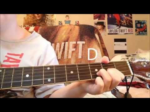 Taylor Swift Our Song Guitar Tutorial