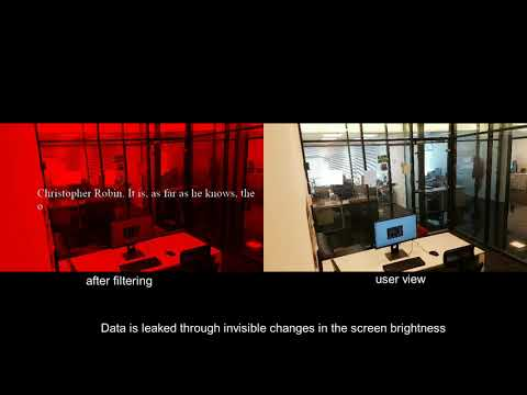 BRIGHTNESS: Leaking Sensitive Data from Air-Gapped Workstations via Screen Brightness