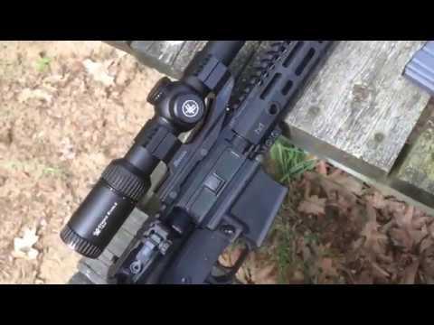 Vortex Strike Eagle 1-8x Range Review