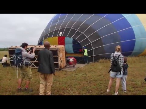 Exciting Balloon Safari Queen Elizabeth National Park with B