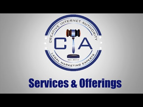 Creative Internet Authority - Inbound Marketing and Public Relations Agency for Law Firms