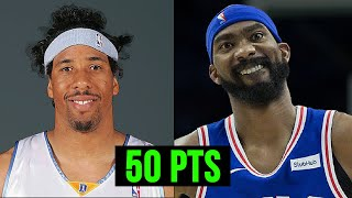 Most RANDOM PLAYERS To Score 50+ POINTS