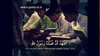 Adzan Maghrib di Gontor Jawa Timur Indonesia