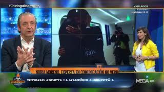 """Nuria Moreno: """"El ABRAZO de Al-Khelaifi con Neymar es FORZADO y NO CORRESPONDIDO"""""""