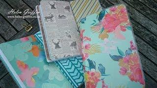 Laminated Traveler's Notebook Journal