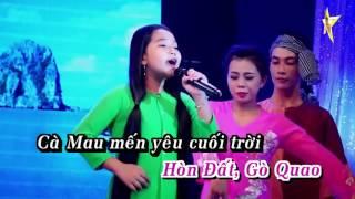 Karaoke Miền Tây Quê Tôi - Bé Ngọc Ngân