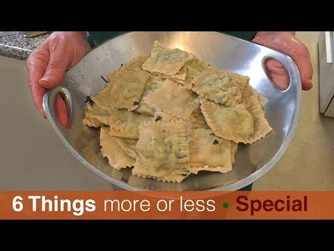How to make easy Homemade Pasta and Ravioli
