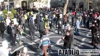 """""""İnsan Haqqları Günü""""ndə Bakıda etiraz aksiyası"""