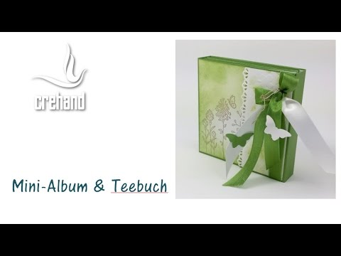 Minialbum teebuch in einem mit stampin 39 up youtube for Carola henke
