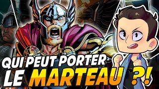 QUI PEUT PORTER LE MARTEAU DE THOR ??!!