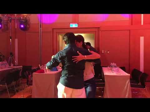 Raymond & Lily 2017 Taipei Tango Festival Performance Sidelight - Rehearsal Practice