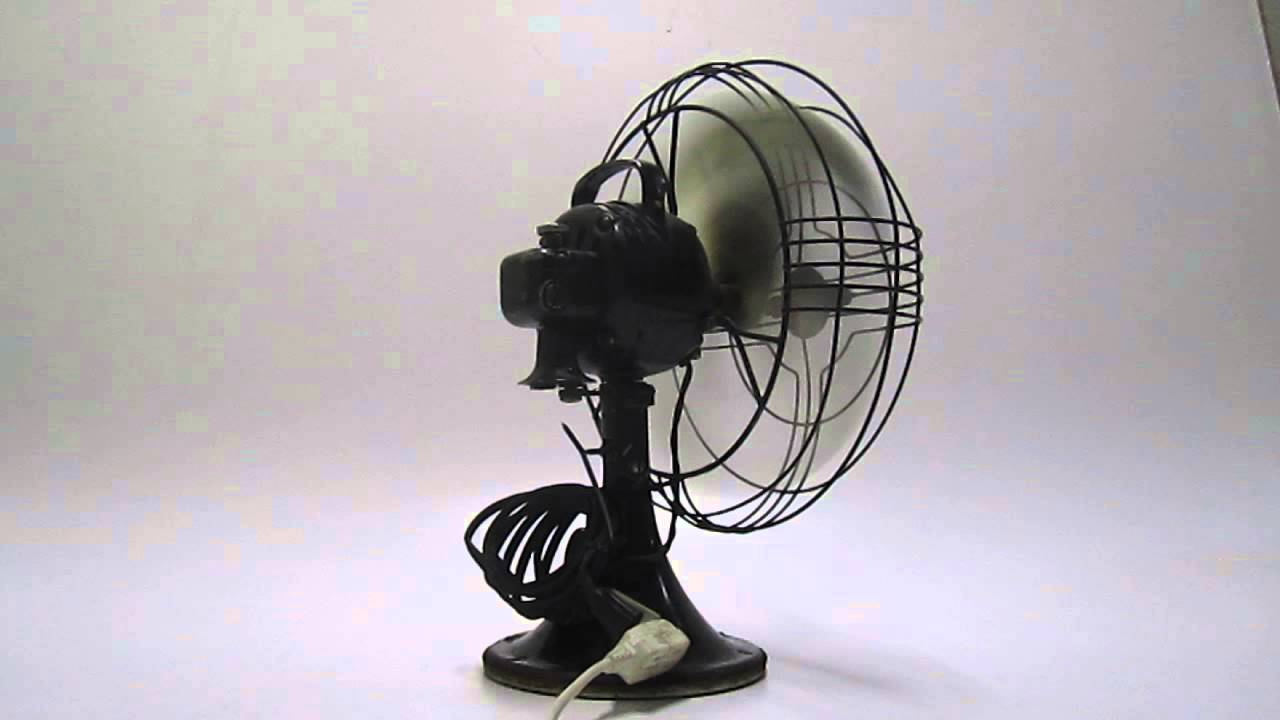 Electric Vortelex 3speed Oscillating Table Fan Model 78x593 Youtube
