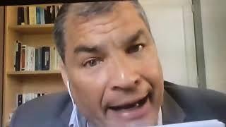 Rafael Correa se destapa