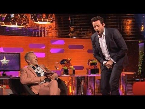 HUGH JACKMAN: Naked Wolverine Danger! - The Graham Norton Show on BBC AMERICA