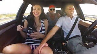 Авто приколы с бабами и мужиками за рулем. Дорожные авто приколы, происшествия и смешные девушки