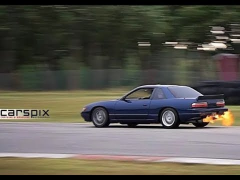 JDM Silvia chasing down a ZR-1 (plus my current PR lap after passing)
