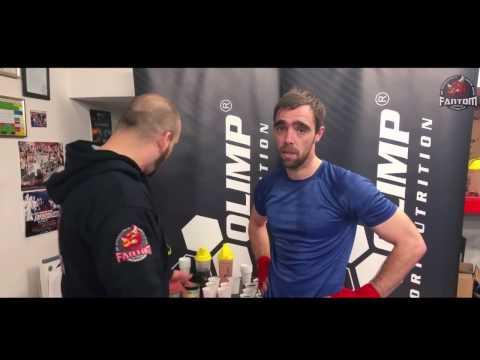 Olimp Knockout 2.0 sampling day at the Fantom Gym & MMA club Dublin