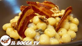 506 - Gnocchi gorgonzola noci e pancetta..un piacere che ti spetta!(primo autunnale goloso e facile)