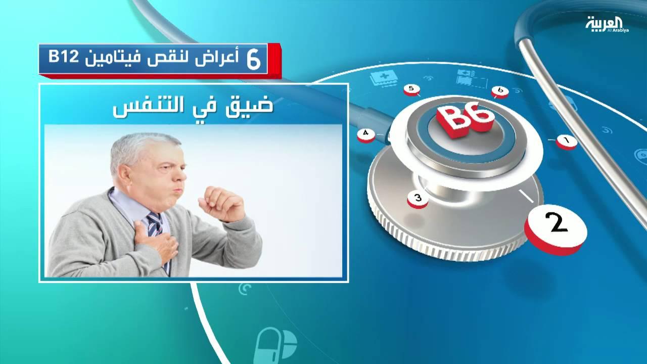 6 أعراض لنقص فيتامين B12 Youtube