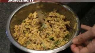 Sałatka weekendowa -ryż curry, pikantny kurczak, zielona papryka :: Skutecznie.Tv