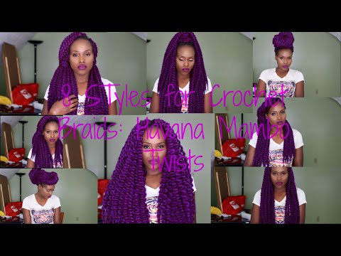 Crochet Braids: How-To|| 8 Styles|| Havana Mambo Twists|| TAILO