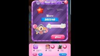Candy Crush Saga Level 1617