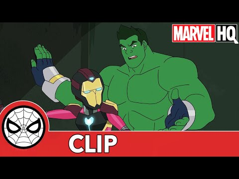 "SNEAK PEAK: Totally Awesome Hulk in Marvel's Spider-Man: Maximum Venom - ""Amazing Friends Pt. 2"""