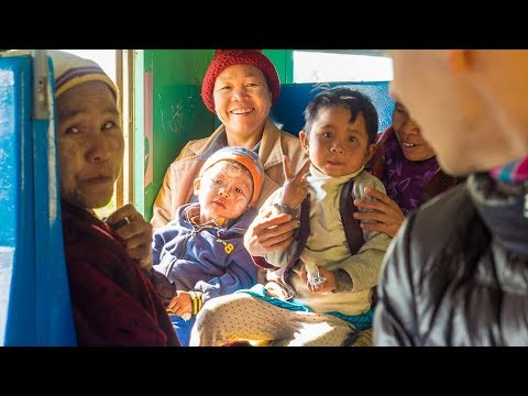 Journey Through Myanmar by Train