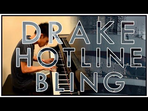 Drake - Hotline Bling (Piano Cover   Sheet Music)