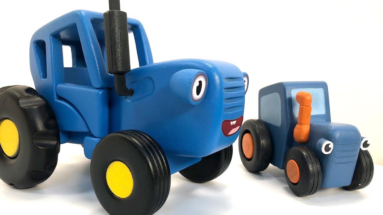 Синий трактор и овощи - Полезная история для детей про ...