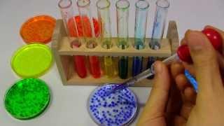 Edible Rainbow Grains Jelly ~ レインボー粒ゼリー