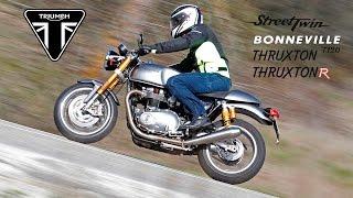 Toma de contacto Triumph 2016: Thruxton R, Street Twin y Boneville T120,