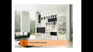 Living Room Storage - Bookcases & Shelving Units