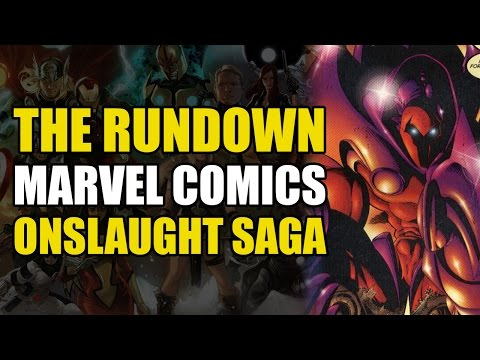 Professor X Betrays The X-Men/The Onslaught Saga (The Rundown)