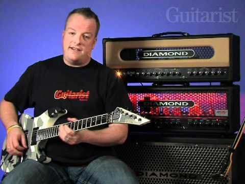 Diamond Spitfire II & Nitrox video review demo Guitarist Magazine
