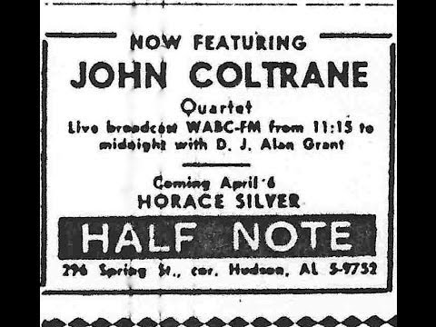 John Coltrane Quartet, Half Note, April 2, 1965