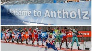 Биатлон. КМ 2016/2017. 6 этап, Антхольц. Эстафета мужчины. Онлайн трансляция