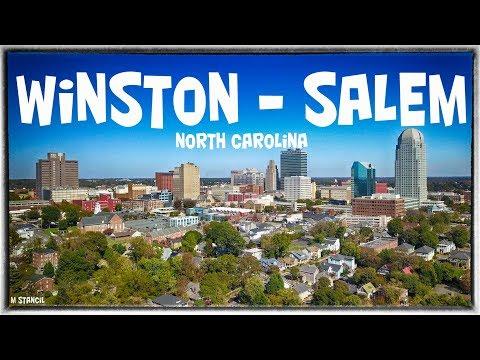 Winston - Salem, NC (DJI Mavic Pro Footage)