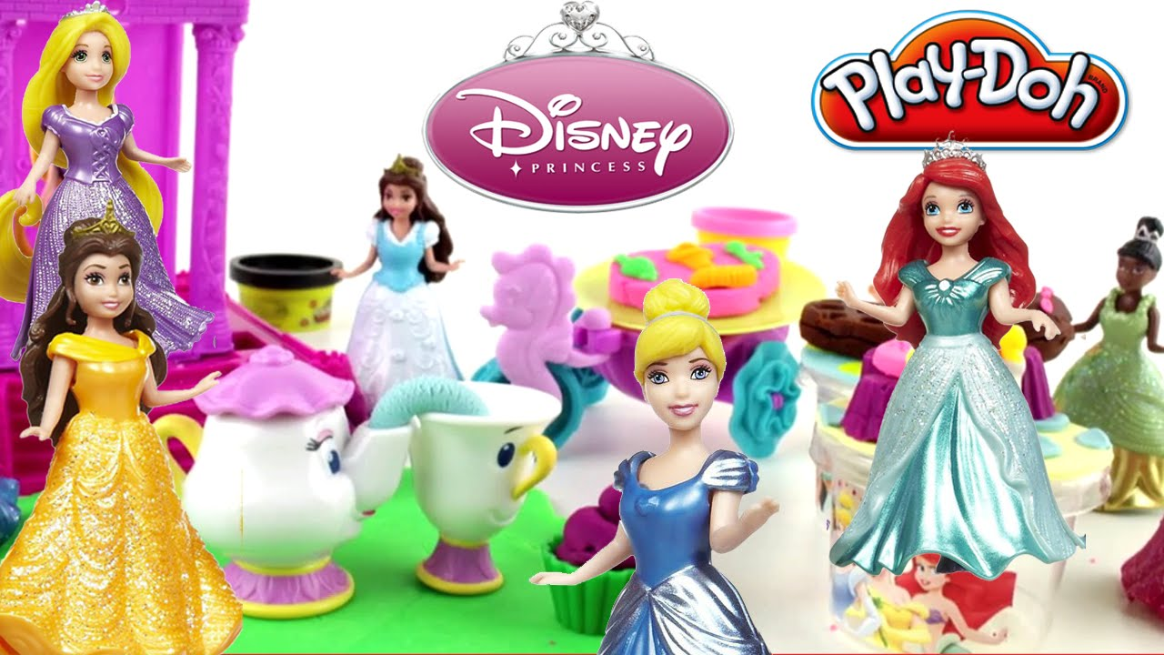 Disney Princesses Play Doh Birthday Party Princesses Magiclip