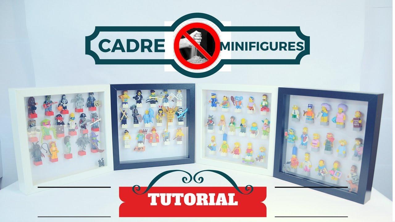 Top lego tutorial cadre minifigures anti poussiere - YouTube LF66