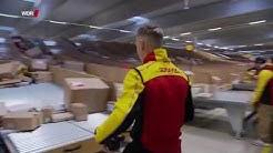 TV Doku:  Pakete - Wettlauf gegen die Zeit