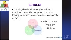 """""""Strategies to recognise and prevent stress and burnout"""" by Gillian Colville for OPENPediatrics"""
