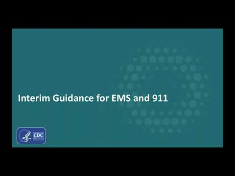 What EMS and 911 need to know about COVID 19 - February 24, 2020