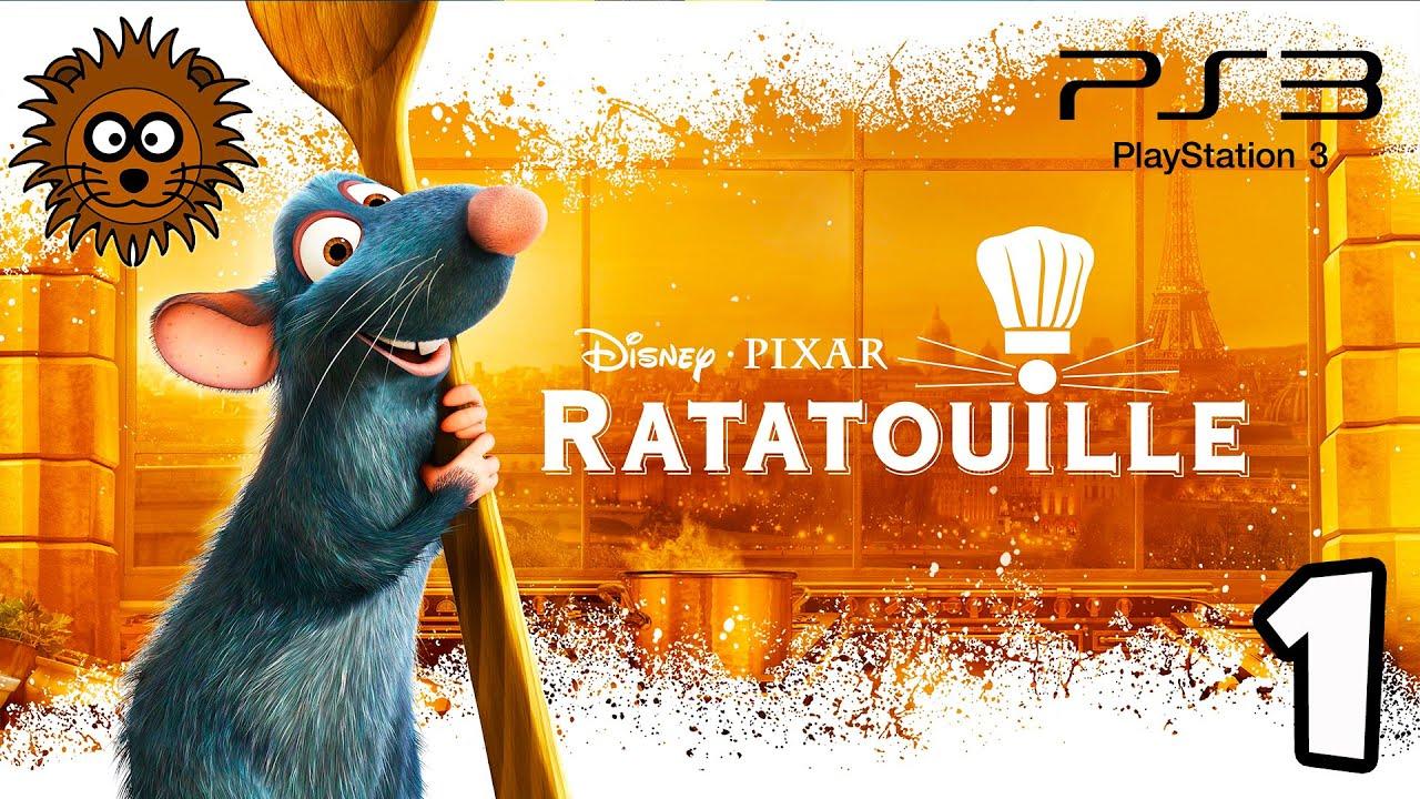 RATATOUILLE El Videojuego en Español - Vídeos de Juegos PS3 Parte 1 Disney Pixar