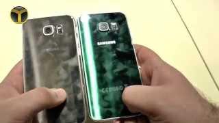 Samsung Galaxy S6 ve Galaxy S6 Edge Yan Yana