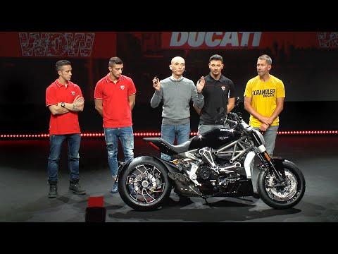 画像: Ducati World Premiere 2016 - More than Red: Black, Wild and Pop www.youtube.com