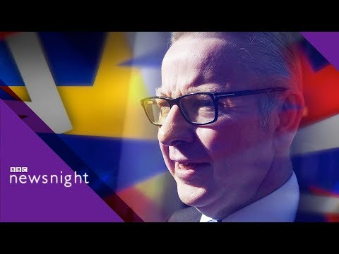 Brexit: Cabinet minister Gove on breaking the impasse - BBC Newsnight