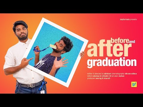 Before and After Graduation | Boy Formula | ChaiBisket
